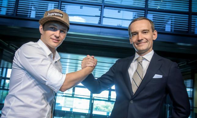 Rafał Zaorski (Krypto Jam) i Łukasz Szczepański (Merlin) podpisali umowę w sierpniu. Po pół roku ją rozwiązano