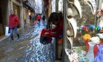 Czerwony alert w Wenecji przed oczekiwanym nowym przypływem