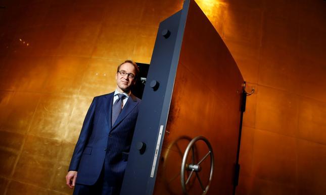 Prezes Bundesbanku Jens Weidmann