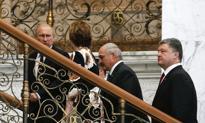 Putin i Poroszenko uścisnęli sobie ręce