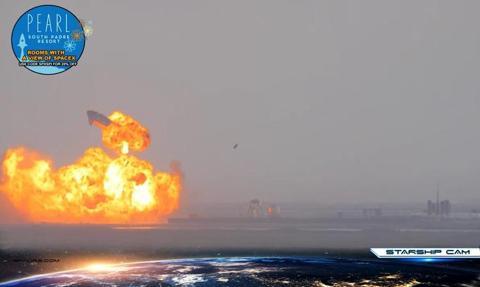 Rakieta Starship eksplodowała tuż po lądowaniu. Chwilę wcześniej Spacex ogłosił sukces