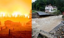 Ogień kontra woda – świat zmaga się z niebezpiecznymi żywiołami. Lipiec na zdjęciach [Galeria miesiąca]