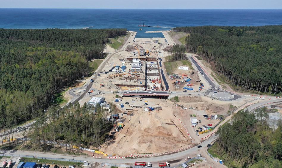 Nowy most na Mierzei Wiślanej będzie otwarty jeszcze w czerwcu