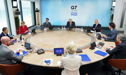 Liderzy G7 zobowiązali się do wspólnej odbudowy świata po pandemii