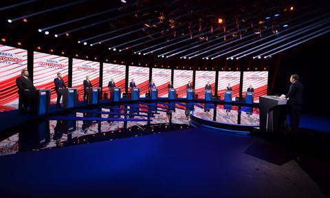 "Debata prezydencka. ""Precz z euro"" i ""Menelowe+"""