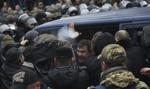 Ukraina: Saakaszwili ze zwolennikami ruszył w stronę parlamentu