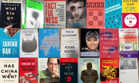 Książka na prezent? 50 tytułów, które polecili nam ludzie biznesu i nauki