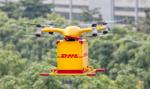 DHL dostarczy paczkę dronem