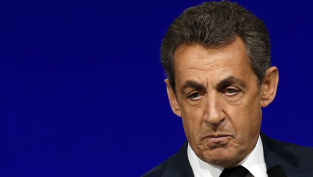 B. prezydent Francji Nicolas Sarkozy
