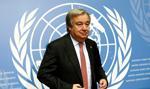 Szef ONZ wzywa wszystkie strony do zachowania spokoju