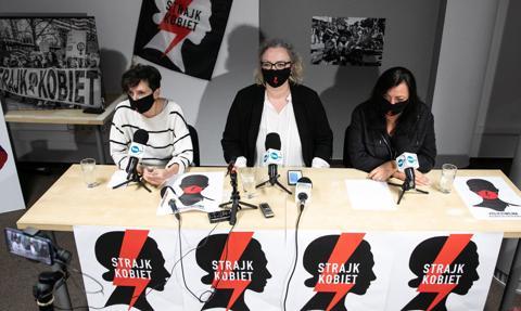 """Marta Lempart przedstawiła postulaty Strajku Kobiet. """"Domagamy się dymisji rządu"""""""