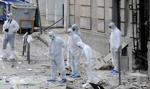 Silny wybuch bomby w centrum Aten