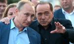 Berlusconi poleciał do Putina na jego 65 urodziny