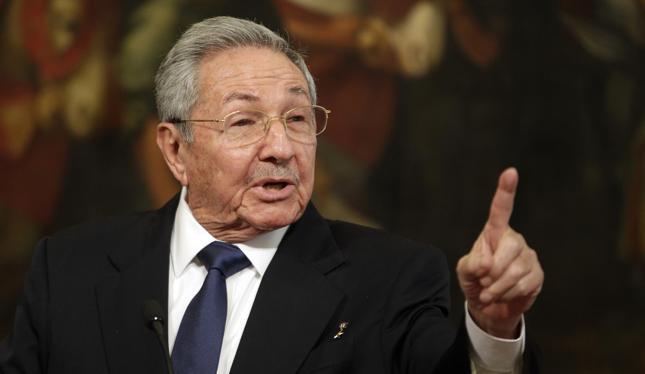 Przywódca Kuby Raul Castro