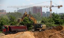 Spowolnienie na budowach mieszkań. Deweloperzy mniej skorzy do nowych inwestycji