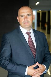 Wiceprezes Jastrzębskiej Spółki Węglowej ds. handlu Rafał Pasieka.