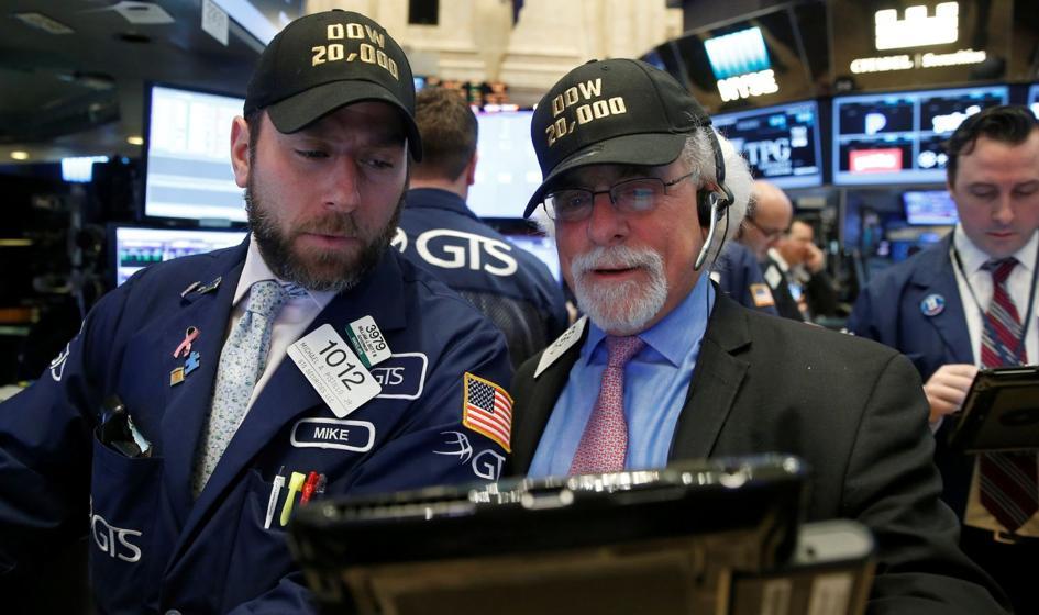 Dow Jones na 20.000 pkt.! Dług USA blisko 20.000.000.000.000 dolarów