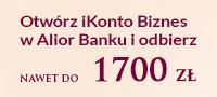 Jak otrzymać nawet 1500 zł od Alior Banku + 200 zł od Bankier.pl SPRAWDŹ!