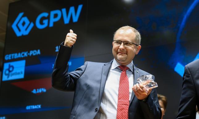 Konrad Kąkolewski, prezes GetBacku