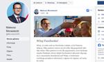 Premier Mateusz Morawiecki założył konto na Facebooku