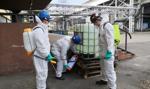 Kopalnia PGG wytwarza własny płyn do dezynfekcji