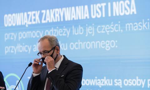 Szef MZ: podmioty lecznicze walczące z Covid-19 mają gwarancję wpływu 1/12 ryczałtu co miesiąc