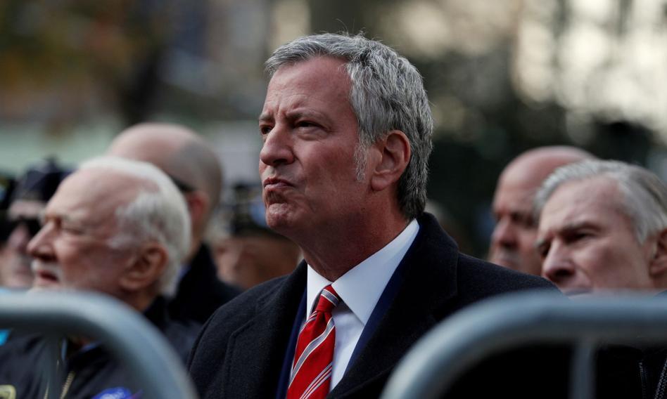 Burmistrz Nowego Jorku grozi Trumpowi sądem