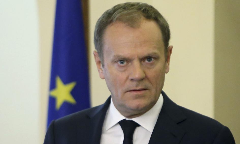 """Tusk: Szczyt w Bratysławie o """"27"""", nie o negocjacjach z W. Brytanią"""