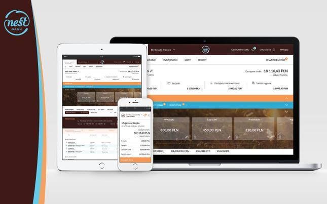 0b0965165861a7 Wszystkie te zmiany uwzględnił Nest Bank tworząc nową platformę bankowości  internetowej i mobilnej.