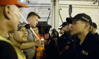 Policja usunęła protestujących, którzy blokowali ulice w pobliżu parlamentu