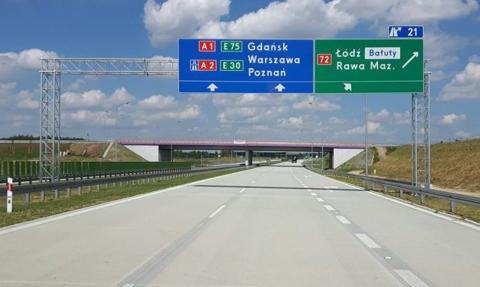 Będzie dodatkowy pas na A2 Łódź-Warszawa. GDDKiA ogłosi przetargi na ponad 147 km dróg