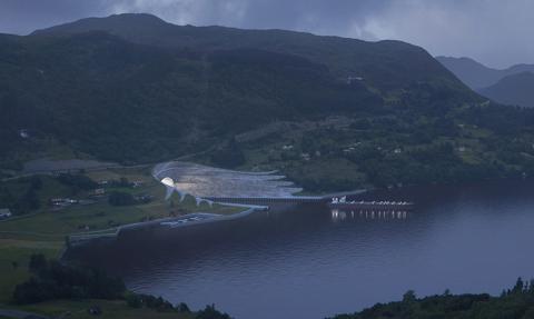 Norwegia zbuduje pierwszy na świecie tunelu dla statków