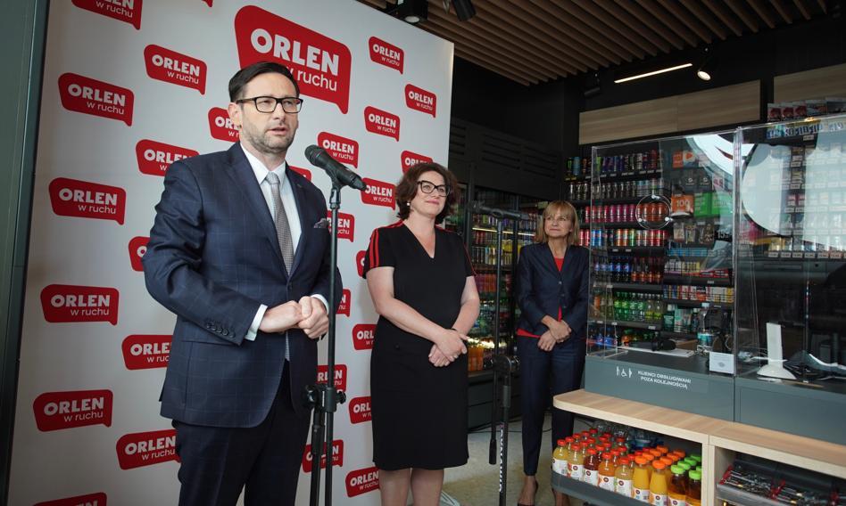 """PKN Orlen otworzył w Warszawie pierwszy punkt sprzedaży """"Orlen w ruchu"""""""
