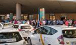 Hiszpańscy taksówkarze protestują przeciwko konkurencji