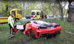 Pijany Holender rozbił ferrari warte 350 tys. euro