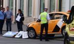 Rosja: taksówka wjechała w tłum ludzi w centrum Moskwy