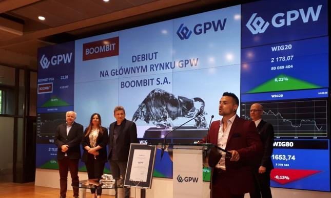 Debiut BoomBitu na GPW