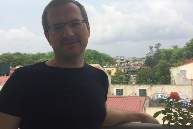 Mateusz Kotowski, Polak w Wietnamie