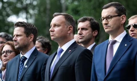 Ranking zaufania. Trzaskowski, Duda i Morawiecki w pierwszej trójce