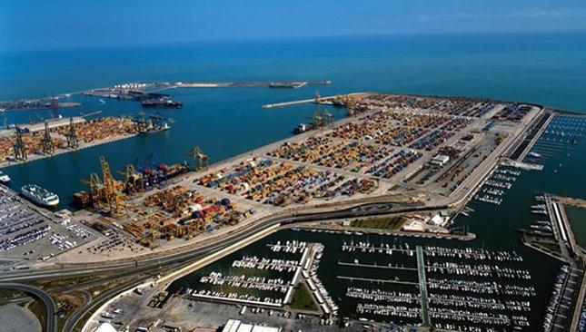 Port w Walencji