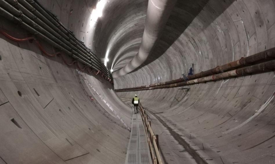 Tunel w Świnoujściu już na półmetku. Otwarcie jesienią 2022
