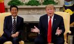 Trump i Abe rozmawiali o handlu i sojuszu wojskowym