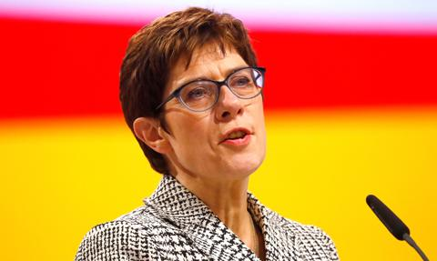 Szefowa CDU wyklucza zniesienie sankcji wobec Rosji