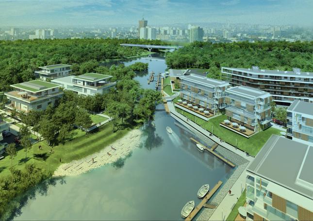 Osiedle Portowo realizowane przez dewelopera Vastint Polska w dawnym porcie na poznańskiej Starołęce jest na razie w fazie projektowania.