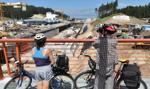 Budowa drogi wodnej przez Mierzeję chętnie oglądana przez turystów