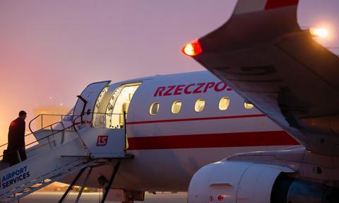 Premier lubi latać. To on najczęściej korzysta z państwowych statków powietrznych
