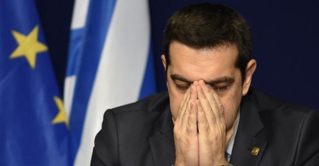 Szef rządu Grecji Aleksis Cipras