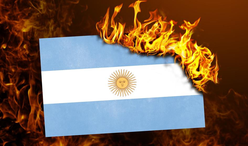 Kosmiczna podwyżka stóp w Argentynie. Peso i tak tonie