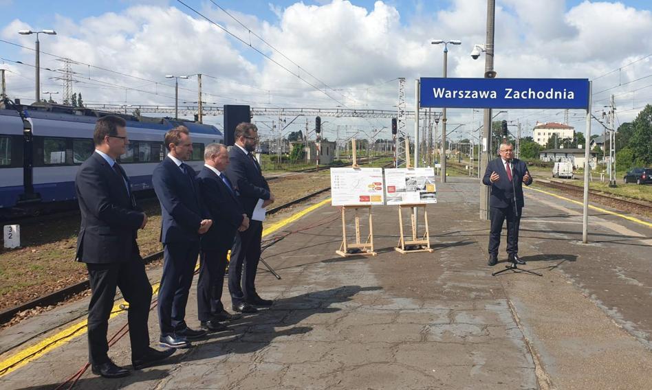 Będzie remont stacji Warszawa Zachodnia