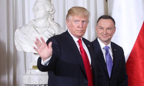 Kadencja Trumpa wobec Polski - zniesienie wiz, zwiększenie obecności wojskowej i kontrakt na F-35